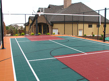 Court flooring Pittsburgh