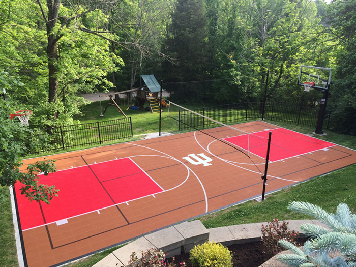 Baseball Court installation Pittsburgh