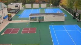 Recreational Court Installation Pittsburgh