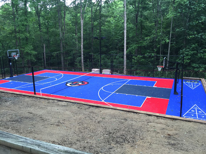 Outdoor Court Installation Near Me