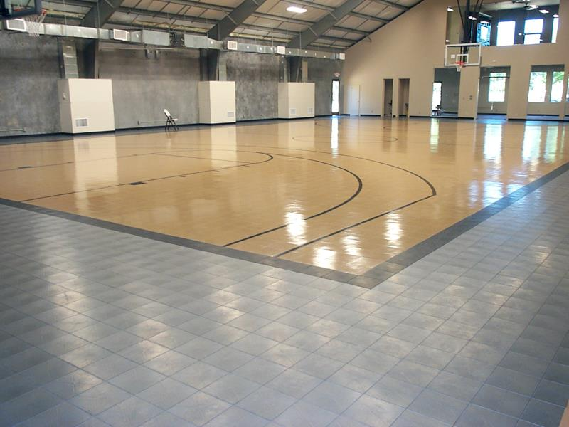 Basketball Court Flooring Pittsburgh