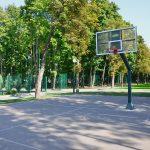 Sport Court after Installation