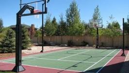 Baseball Court installation