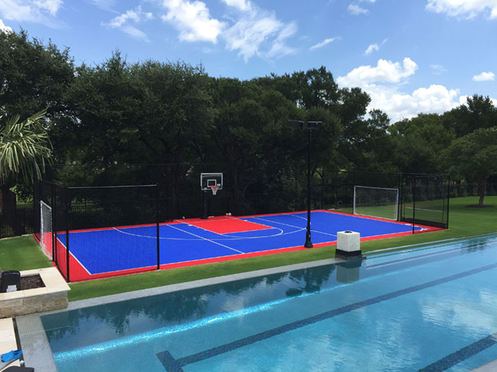Residential Basketball Courts Pittsburgh