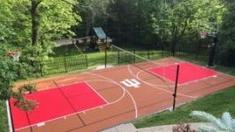 Baseball Court installation Pittsburgh