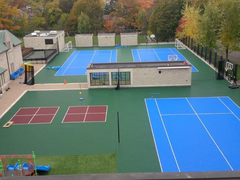 Recreational Court Installation Pittsburgh