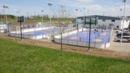 Hockey Court Installation Pittsburgh
