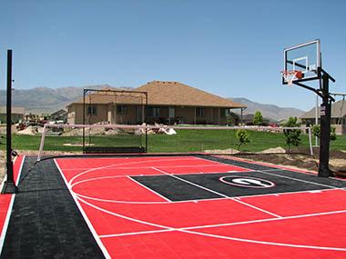 High School Basketball Court Pittsburgh