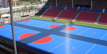Commercial Sport Court installation