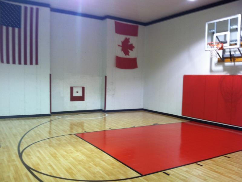Home Basketball Court Pittsburgh