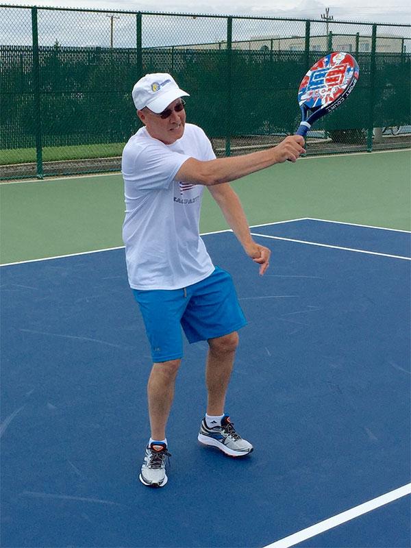 Pop Tennis Court