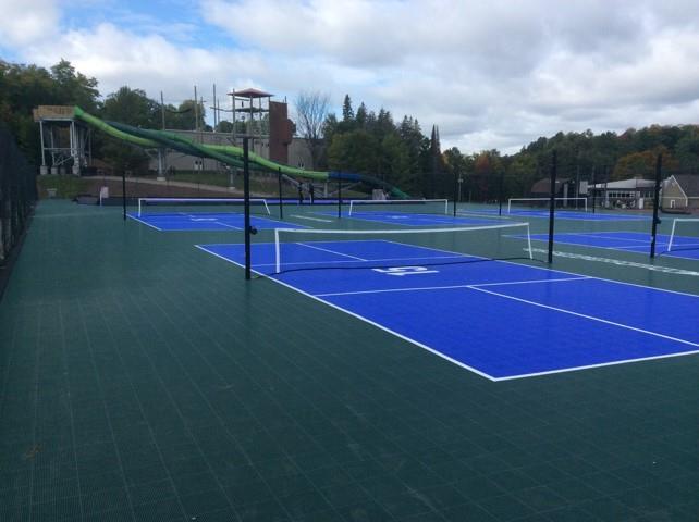 Professional Tennis Court