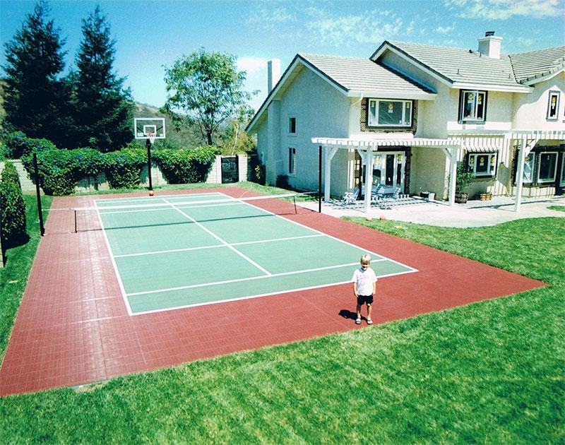 Backyard Courts Pittsburgh