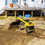 Land Excavation for Sport Court